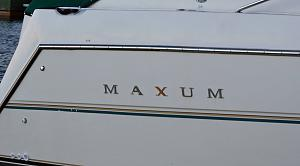 Maxum decal replacement - Maxum Boat Owners Club - Forum