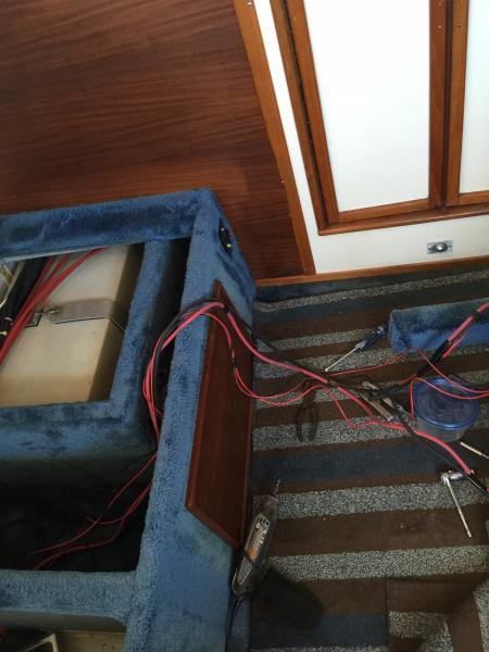 Windlass cables
