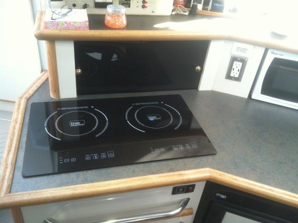 Induction Stove Installed