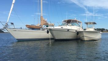 On the hook @ Basset Island Cape Cod