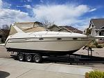 July 2019 our 'new' 1997 Maxum SCR 3000