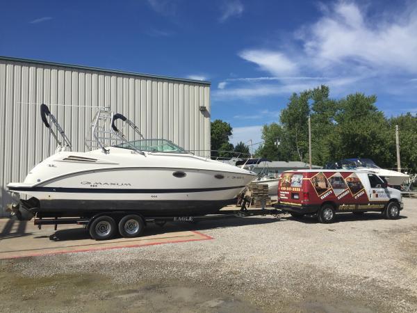 August 2016 just purchased my first Maxum boat, Sandusky Ohio