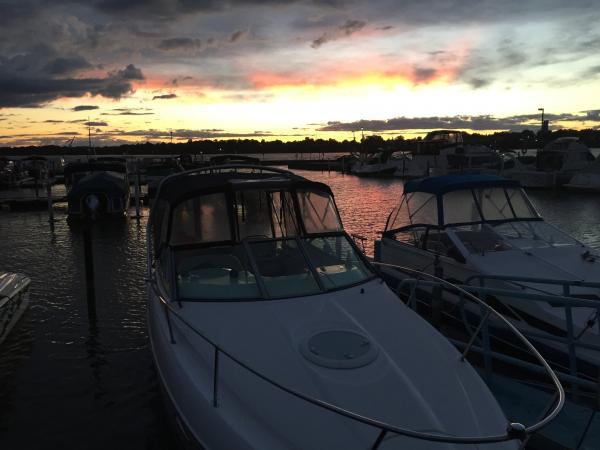 Another beautiful sunset at the marina